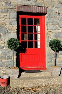 Tackroom front door